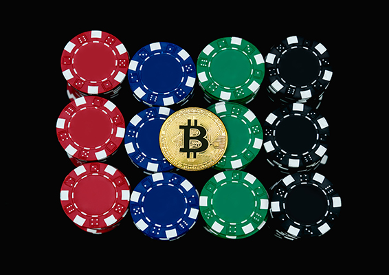 bitcoin on casino coins
